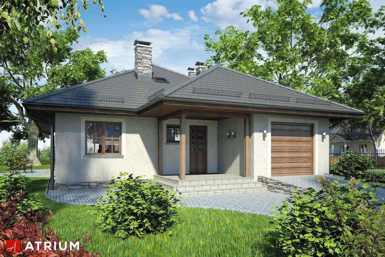 Dom parterowy 85m2, 3 sypialnie, garaż 19m2
